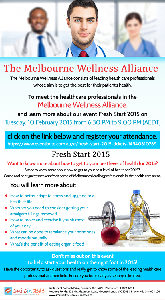 The Melbourne Wellness Alliance Banner