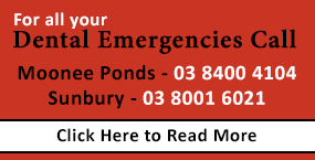 Dentist Sunbury - Dental Emergencies