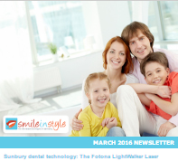 Smile In Style  - March 2017 Newsletter, Dr. Rose