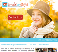 Smile In Style  - May  2017 Newsletter, Dr. Rose