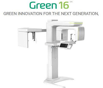 image of Green 16 CBCT machine